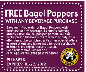 Einstein Bros Bagel Poppers