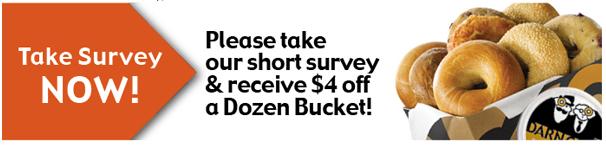 Einstein Bros Dozen Bucket Coupon